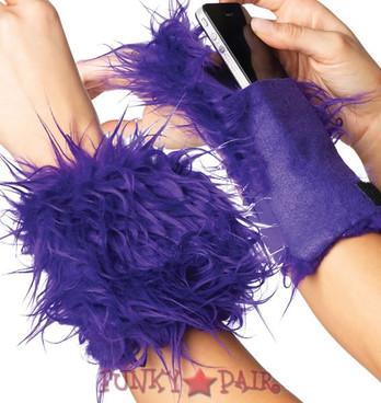 LA-2007, Fur Wrist Cuff Wallet