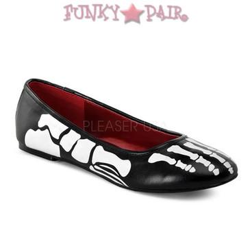 Funtasma X-Ray-01, Skeleton Flat Shoes