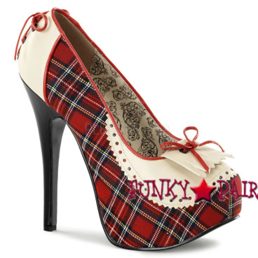 Bordello | Teeze-26, Pump with Plaid