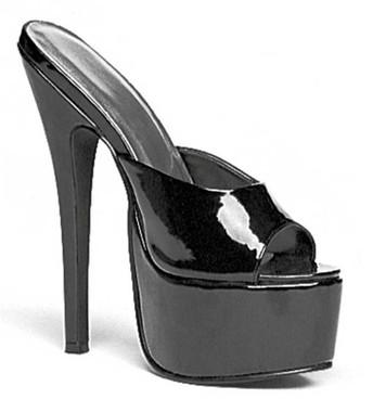 """Ellie Shoes 652-Vanity 6.5"""" Exotic Dancer Platform Slide"""