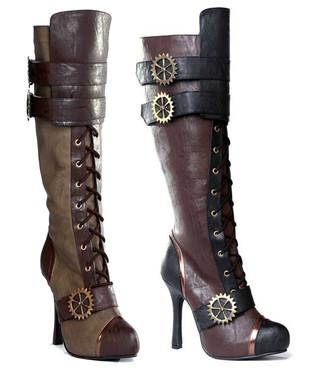 Steampunk boots Ellie | 420-QUINLEY