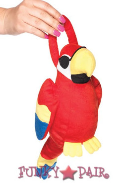 Polly Parot Plush Accessory Bag
