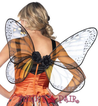 Strapless Monarch Wings