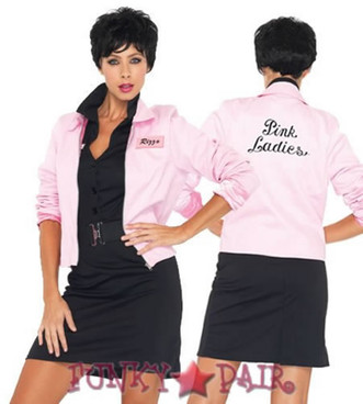 Pink Ladies Logo Jacket