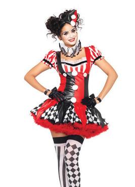 Harlequin Clown
