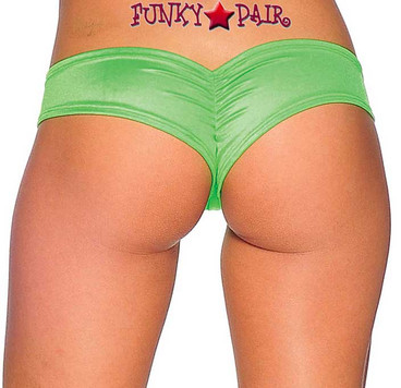 Rave Scrunch Back Micro Shorts | BodyZone 1244SL Color Neon Green
