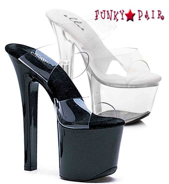 711-Coco, 7 Inch High Heel with 2.75 Inch Platform Exotic Dancer Shoes Made By ELLIE Shoes