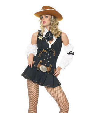sexy cowgirl cowboy costumes83365, Wild West Sheriff Costume
