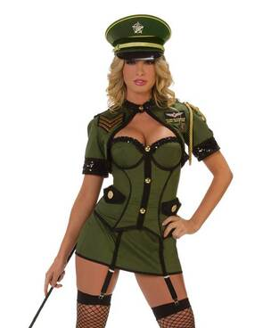 Starline Costumes | S1016, Sexy Army General