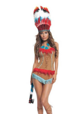 S2113, Indian Princess Costume