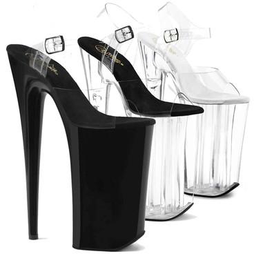 "10"" Extreme Exotic Dancer Heel | Pleaser Shoes Beyond-008"