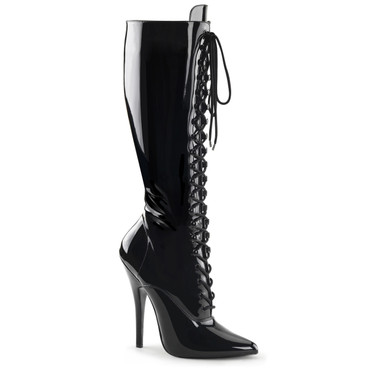 Fetish Lace-up Knee Boots Devious | Domina-2020