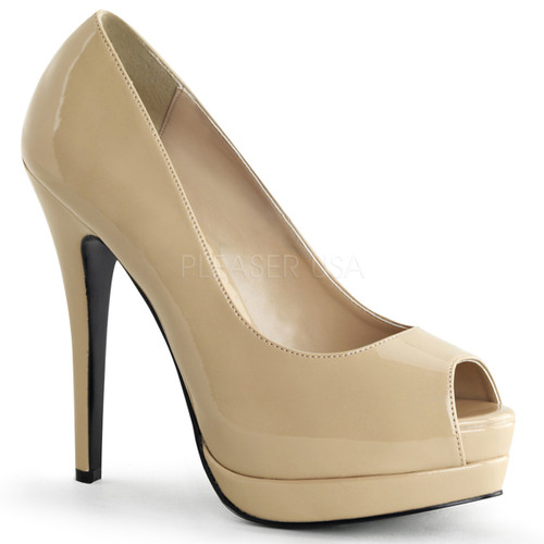 Bordello | Bella-12, Peep Toe Pump