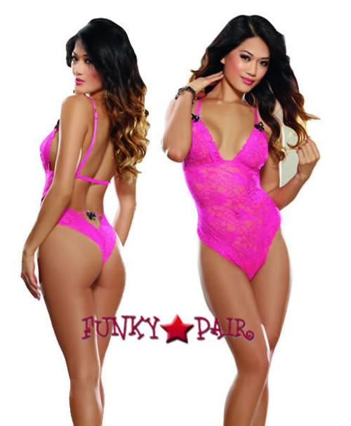 DG-8465 * Hot Pink Surprise Teddy