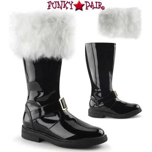 Funtasma | Men's  Santa-102 Boots with Removable Cuffs