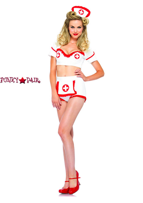 LA-85197, First Aid Flirt Nurse Costume