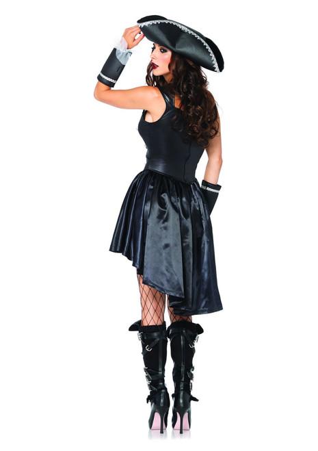 LA-85210, Captain Black Heart Costume Back