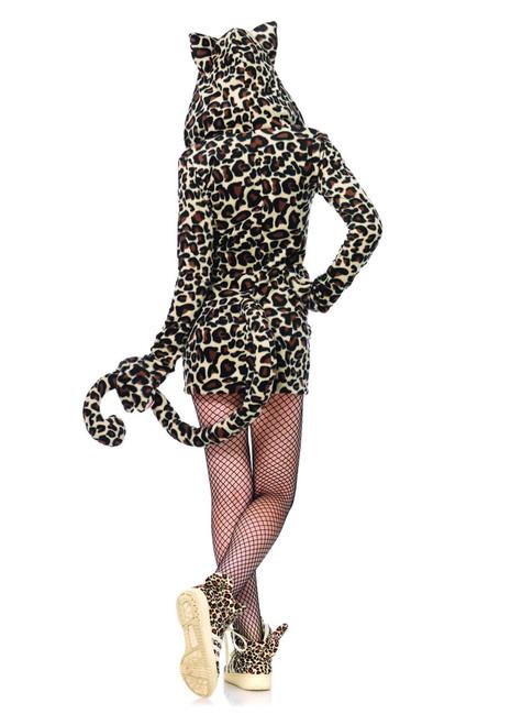 LA-85313, Cozy Leopard Costume Back