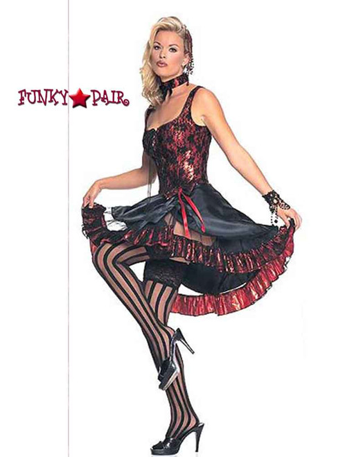 Can-can girl costume (8815) made by Leg Avenue