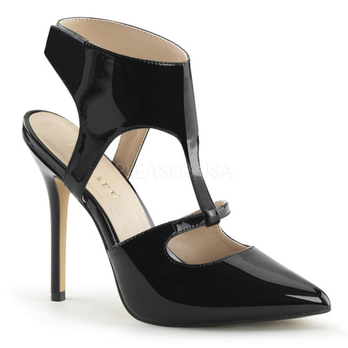 Amuse-19, 5 Inch, sling back sandal  Sculpted Cutouts