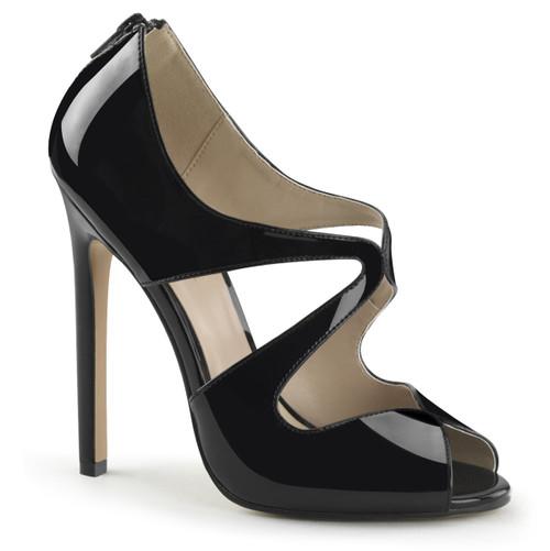 Pleaser | Sexy-12, Peep Toe Sandal with Cutout Shape