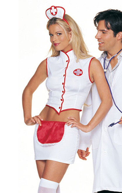 Naughty nurse costume (8873)
