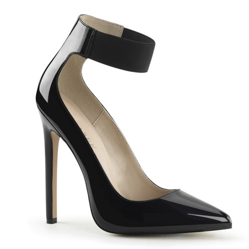 Pleaser | Sexy-33, Elasticized Ankle Strap Pump