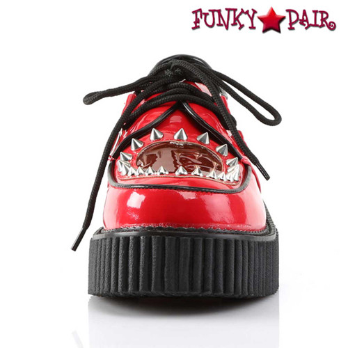 Front View Creeper-108 Shoes Heart Creeper Design