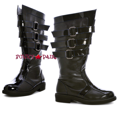 125-DARTH, Men Buckles Boots,COSTUME BOOTS
