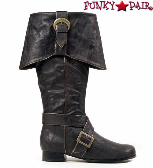 Men's Black Pirate Boots | 1031 121-Jack