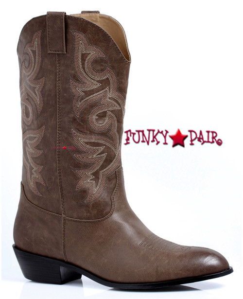 129-Clint, Men's Cowboy Boots,COSTUME BOOTS