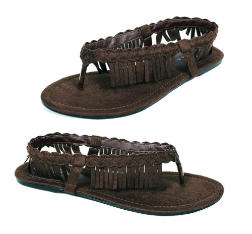 015-APACHE, Indian Flat Shoes COSTUME SHOES