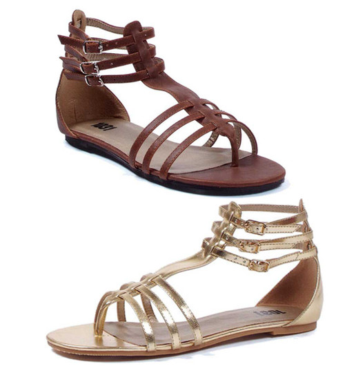 Women's Strappy Gladiator Sandal 015-ROME, brand 1031