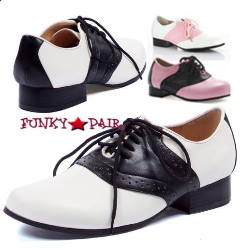 105-SADDLE, 1 inch saddle shoes,COSTUME SHOES