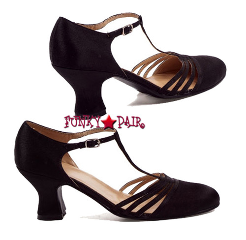 254-Lucille, 2.5 inch t-strap dance shoes,COSTUME SHOES