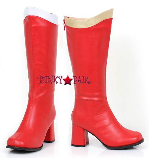 300-Super, 3 inch Super Hero Boots,COSTUME BOOTS