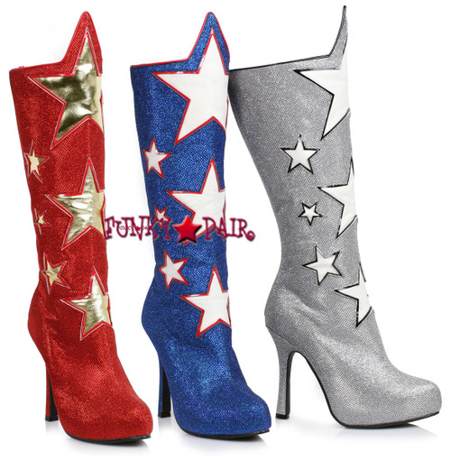 531c3680bb8c Wonder Women Boots - Sexy Super Hero Costume Boots - Comic Hero Boots