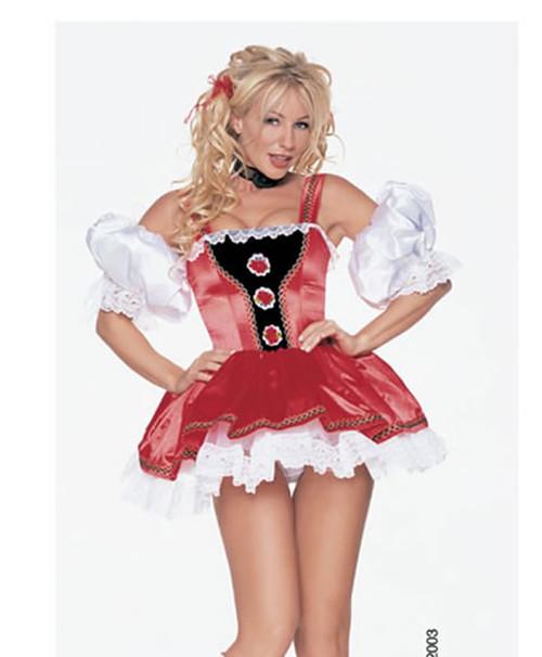Alpine girl costume
