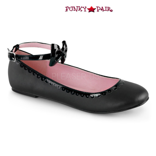 Demonia | Star-27,  Ankle Strap Flat shoes