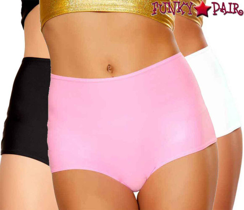 J. Valentine | FF612, Rave Solid High-Waist Short Color available: baby pink, black, white