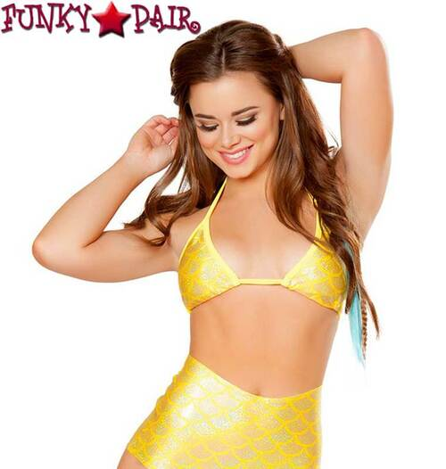 Rave Mermaid Top J Valetine CC402 color Yellow