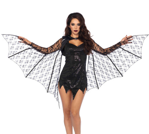 A2772, Lace Bat Wing