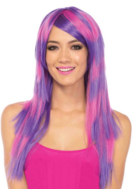 A2767, Long Striped Wig