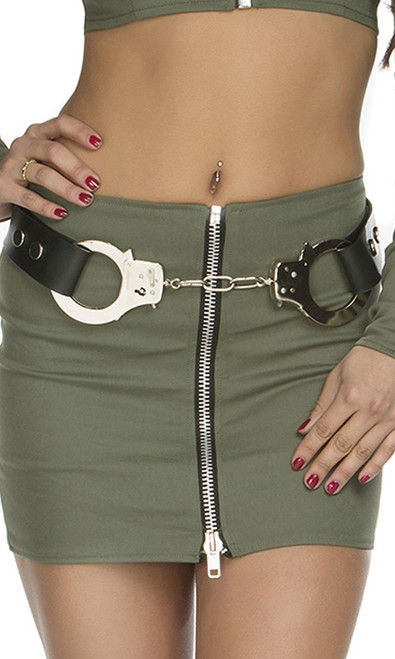 Adjustable Handcuff Belt.
