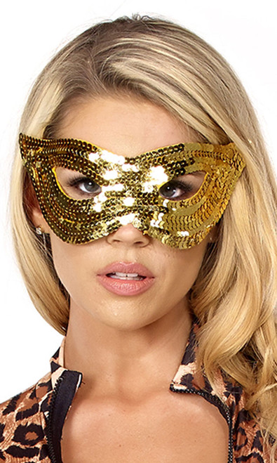 Sequin Mask.