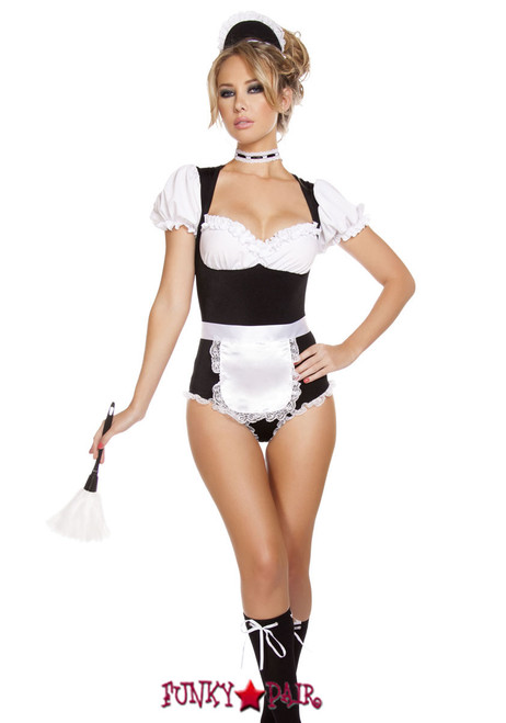 Black french maid mature are not