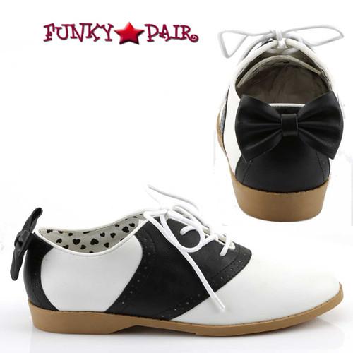 Funtasma | Saddle-53, Saddle Shoes with Bow