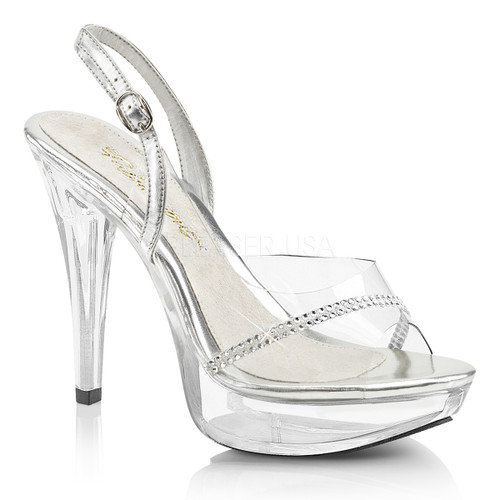 Cocktail-556, 5 Inch Heel Sling Back Sandal