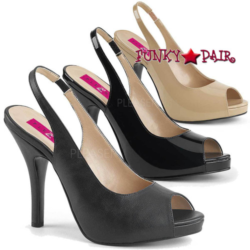 Pink Label | Eve-04 Women Peep Toe Sandal Plus Size 9-16
