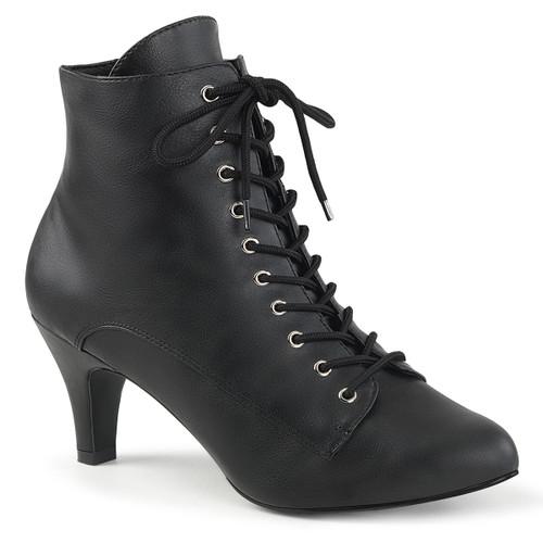 "Divine-1020, 3"" Block Heel Ankle Boots | Pink Label"